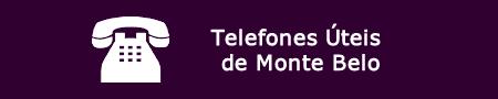 Telefone úteis de Monte Belo